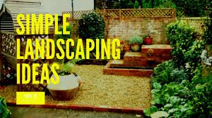 simple landscaping ideas. Diy Simple Landscape Designs Landscaping Ideas Easy Projects X E