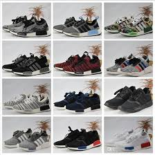 adidas 2018 shoes. adidas originals high quality 2018 nmd runner primeknit discount sales white sports shoes men woman running boost with box spikes s