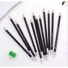 Hộp bút chì 2B cao cấp - Bút chì 2B cho học sinh sinh viên_bút chì bé tập  viết - Bút chì - Ruột bút chì Tác giả OEM
