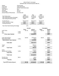 Employee Invoice Template Free Labor Invoice Template Free Contract Employee Parts And Employment