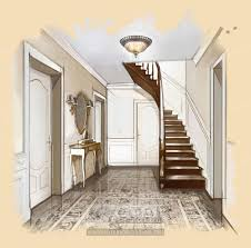 Hallway Interior Design Visualisations Hall Design Projects