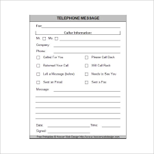 Printable Phone Message Phone Messages Messages Out Of
