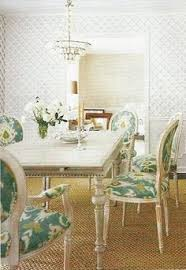 ikat chairs diningroom
