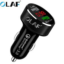 <b>Olaf</b> Car <b>USB</b> Charger Quick Charge 3.0 Mobile Phone Charger ...