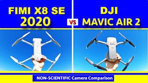 Camera Comparison - DJI Mavic Air 2 vs <b>FIMI X8 SE 2020</b> - Non ...