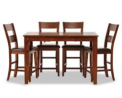 this review is from montego 5 pc counter height dining room set