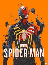 Marvel's Spider-Man Official Art Print, Chun Lo - ArtStation
