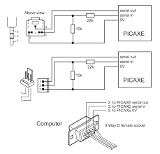 how to communicate with the picaxe 9 pin serial to usb wiring diagram 9 Pin Serial To Usb Wiring Diagram #21