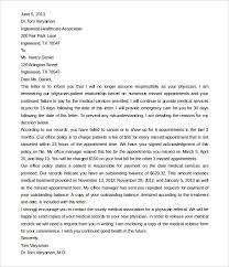 Dr Letter Template 8 Patient Termination Letter Templates Word Pdf Free