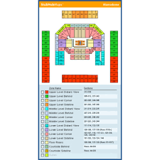 Alamodome Seating Chart Alamodome Seating Chart Fresh Alamodome Events And Concerts