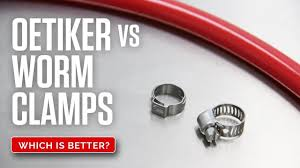 Oetiker Style Hose Clamps Stepless Ear Clamps Stainless Steel