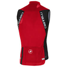Castelli Entrata 3 Sleeveless Cycling Jersey Red
