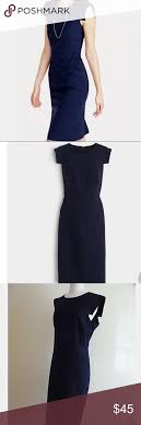 J Crew Resume Dress J CREW Navy Blue Resume Dress 💙 Navy blue Navy and Customer 24