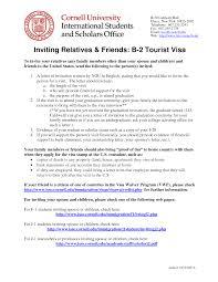 Stunning Invitation Letter For Us Visa Gallery Resume Samples