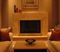 limestone fireplace tile