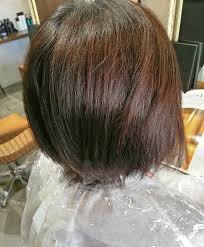 縮毛矯正で丸みと動きのあるショートヘアーに失敗変な髪型にならない