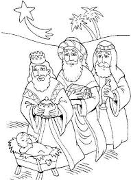 Small Picture Three Kings and Baby Jesus Coloring Pages Batch Coloring