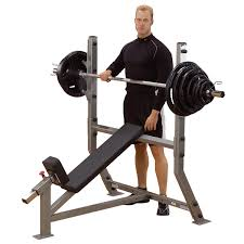Body Solid GFID100 Flatinclinedecline Bench With The Awesome Red Bodysolid Bench