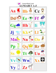 Free Printable Alphabet Letters Flash Cards English Act