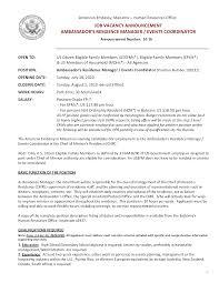 Event Manager Resume event coordinator resume nicetobeatyoutk 39