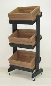 Wooden Fruit Display Stands Classy Display Crates Displays Crates Baskets Shop Pinterest