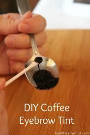 diy coffee eyebrow tint make your own coffee eyebrow tint with coffee grounds and water