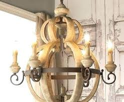 rustic iron chandeliers endearing wood and chandelier on wooden wrought shades of light large candle rusti chandelier in washed wood and crystal iron rod