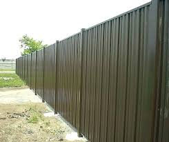 corrugated metal privacy fence sheet how to build a solid panels construction