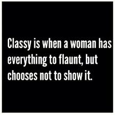 Classy Girl Quote