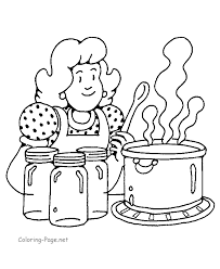 Small Picture Surprising Inspiration Cooking Coloring Pages Cook Coloring Page