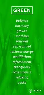 Green Color Psychology Httpwww.tazekaaromatherapy Color . inside Green  Colour Means