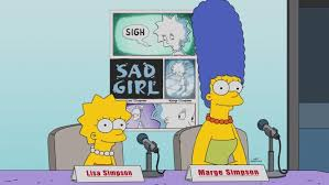 marge and lisa simpson 960x540