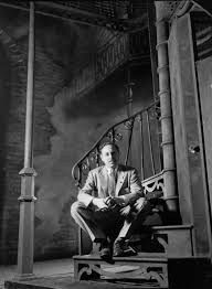 best tennessee williams images tennessee  tennessee williams posing on the set of a streetcar d desire