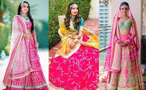 Engagement Lehenga Designs 2018 21 Lehenga Color Combination For Brides That Are Going To