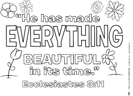 Christian Coloring Pages With Verses Bible Verse Coloring Page