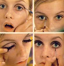 how to apply 1960 s style eye makeup via wikihow