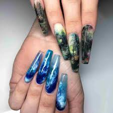 Nail Show Design 7 Thermochromic Ink And Mix Color Nails Art Designs