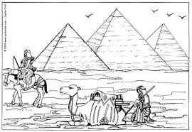Kleurplaat Piramides Afb 7572 Images