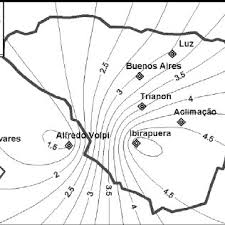 Distribution map of Cr in public parks of São Paulo (mg.kg –1 ) | Download  Scientific Diagram