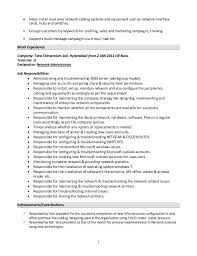 System Administrator Resume Delectable Resume Windows System Administrator Specialist's Opinion