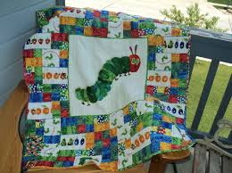 58 best Quilts - Very hungry caterpillar quilts images on ... & Very Hungry Caterpillar Lap Quilt Adamdwight.com