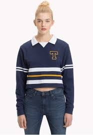 tommy jeans tjw colorblock rugby polo on zalora singapore