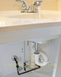 How To Replace A PopUp Sink Drain Pivot Rod And PTrap - Plumbing bathroom sink