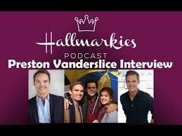 Hallmarkies: Actor Preston Vanderslice Interview - YouTube