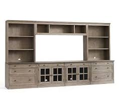 home office pottery barn. Livingston Large Media Suite Home Office Pottery Barn