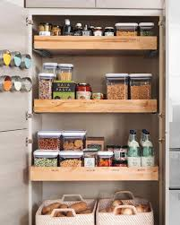 Storage For The Kitchen Save Space In The Kitchen Martha Stewart
