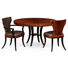 jonathan charles santos art deco round dining table 494574 high re at kings always providing the