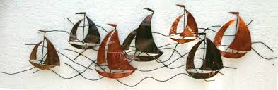 >metal wall art sailing boats 4 steps with pictures  picture of metal wall art sailing boats