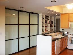 sliding glass doors milky kitchen pantry open full image