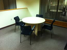 36 round office table new btod 36 round top dining height breakroom table w chairs office